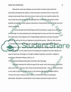 Marriage Argument Essay Essay On Same Marriage Arguments Argument Same