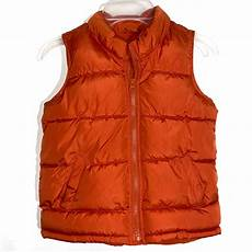 Old Navy 5t Size Chart Old Navy Puffer Vest Orange Boys Size 5t
