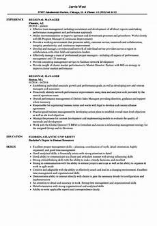 Regional Manager Resume Examples Regional Manager Resume Samples Velvet Jobs