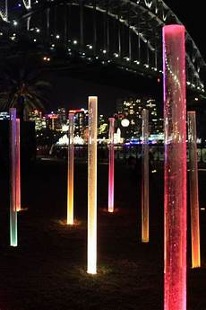 Outdoor Lighting Sydney Hassell Lights The Way To Walsh Bay For Vivid Sydney