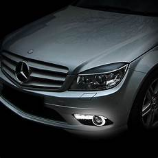 Mercedes Benz Cornering Lights 08 10 Mercedes Benz C300 C350 W Amg Sport Bumper Led