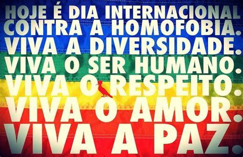 Dia Mundial Homofobia