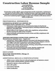 Construction Worker Resume Templates Construction Worker Resume Templatescoverletters Com