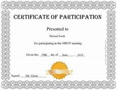 Free Certificates Of Participation Free Certificate Of Participation Customize Online Amp Print