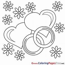 wedding rings coloring pages s day for free