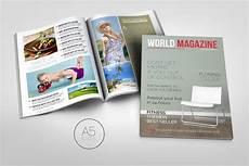 Magazine Template A5 Magazine Template Creative Magazine Templates