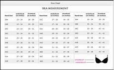Bra Measurement Chart Bras Amp Size Chart Seekrets