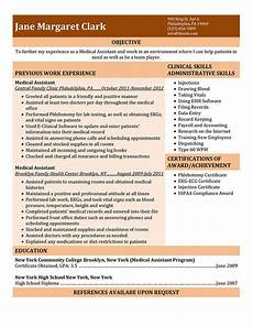 Skills For Medical Assistant 16 Free Medical Assistant Resume Templates