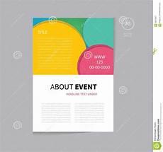 Event Program Booklet Template Program Booklet Template Shatterlion Info