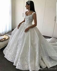 discount elie saab 2017 wedding dresses scoop lace 3d