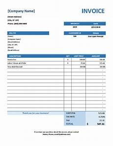 Microsoft Office Invoice Templates Simple Service Invoice