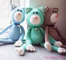 crochet a cat free crochet pattern yarnplaza for