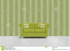 Sofa Cushions 3d Image by Composite Image Of 3d Illustration Of Green Sofa With