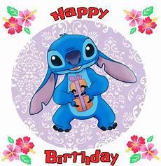happy birthday from stitch by majkashinoda626 on deviantart