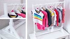 newborn clothes rack make an awesome baby clothes rack easy diy organization