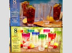 Costco Sale: Acrylic Drinkware 8 Pc Set $9.99   Frugal Hotspot