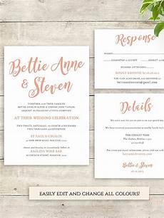 Wedding Invitation List Template 16 Printable Wedding Invitation Templates You Can Diy