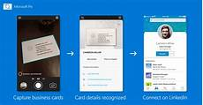 Ms Office Business Cards Microsoft Pix S Ai Gets Even Smarter Business Card