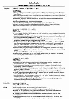 Collection Manager Resume Collections Manager Resume Samples Velvet Jobs