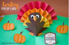 how to make a thanksgiving cards diy thanksgiving turkey pop up card artsy craftsy
