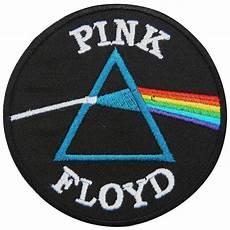 embroidery patches pink floyd side of the moon sew iron on patch