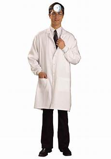 white doctor lab coat costume for size