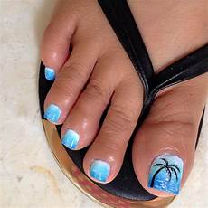 Cute Beach Toenail Designs How To Get Your Feet Ready For Summer 50 Adorable Toe