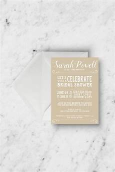 bridal shower invitation rustic bridal shower