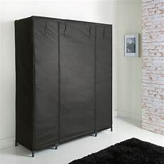 spaceways deluxe large canvas wardrobe bedroom furniture