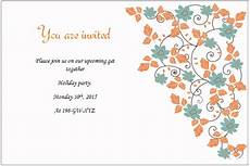Word Templates Invitations Free Holiday Invitation Templates For Party Picnic Etc