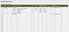 Diabetes Excel Spreadsheet Diabetes Blood Sugar Level Tracker Excel Templates
