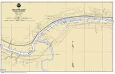 Mohawk River Depth Chart Mohawk River Schoharie Creek Nautical Chart νοαα
