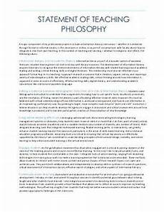 Design Philosophy Statement Pin By Teachingstatement On Teaching Statement Of Purpose