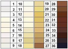Skin Color Scale Chart Were The Moors Black Egyptians 60 S Facts Interior