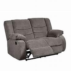 Signature Design By Tulen Gray Reclining Sofa And Loveseat Tulen Gray Reclining Loveseat Signature Design Furniture