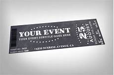 Design Event Tickets Online 22 Creative Event Ticket Designs Amp Examples Psd Ai