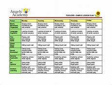 Lesson Plans For Toddlers Toddler Lesson Plan Template 9 Free Pdf Word Format