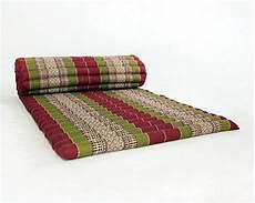 design by unseenthailand roll up thai mattress kapok