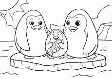 ausmalbilder tiere pinguin familie ausmalbilder tiere