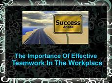 Examples Of Teamwork In The Workplace The Importance Of Effective Teamwork In The Workplace