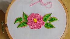 embroidery flower stitch