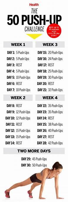 Push Up Chart For Beginners Push Ups Challenge For Beginner 9gag