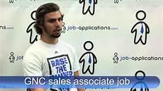 Gnc Sales Associate Duties Gnc Interview Sales Associate Youtube