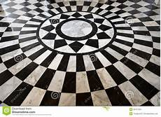 pavimenti a scacchiera black and white marble floor pattern stock photo image