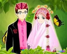 kartun pernikahan muslim multi info