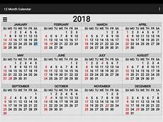 A Year Calendar 2018 Calendar Free Stock Photo Public Domain Pictures