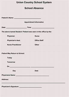 Doctors Note Creating Fake Doctor S Note Excuse Slip 12 Templates