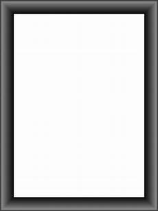 transparent classic grey frame png image gallery