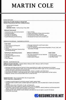 Resume Is Resume Template Guide For 2018 Gt Latest Updates Resume 2018