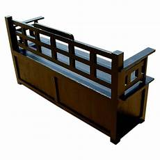 solid wood black storage trunk sofa entryway bench